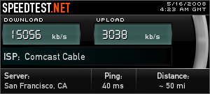 comcast blast speed