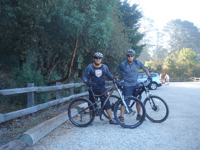 Biking at Skyline Redwood